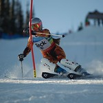 Sun Peaks Teck Open - forerunner on course PHOTO CREDIT: Martin Tichy