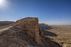 Edge of the World (Sarfraz Abbasi [1.5 million views, Thanks]) Tags: world lens angle wide edge saudi arabia fujifilm riyadh ultra fujinon sensor formations ksa apsc mirrorless 1024mm xe2 mazamiyah