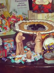 Nativit (bluarancio85) Tags: vintage vetrina natale dolcezza presepe nativit caramelle dolciumi natalizio erboristeria caramelleleone