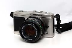 Olympus PEN E-P1 (__stuart__) Tags: canon photography eos rebel 100mm f2 usm product tabletop xsi f20 productphotography 450d canonef100mmf2usm canoneos450d canoneosrebelxsi