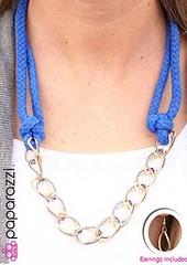 Glimpse of Malibu Blue Necklace K2A P2720A-4