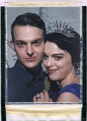 Nichole and Joshua get married (LukeOlsen) Tags: wedding oregon portland polaroid pw instantphotography bigshot weddingphotography fp100c polaroidbigshot strobist peelapartfilm lukeolsen pdxstrobist wl1600 unionpine unionandpine