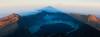 View from Gunung Rinjani Summit (flyingdodo) Tags: shadow lake sunrise indonesia volcano mount crater gunung lombok anak rinjani segara