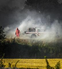 Chi resta, chi va (ReoBerto) Tags: red italy rescue smoke val tuscany fireman blaze toscana incendio fuoco policeman fumo dorcia carabiniere soccorso pompiere