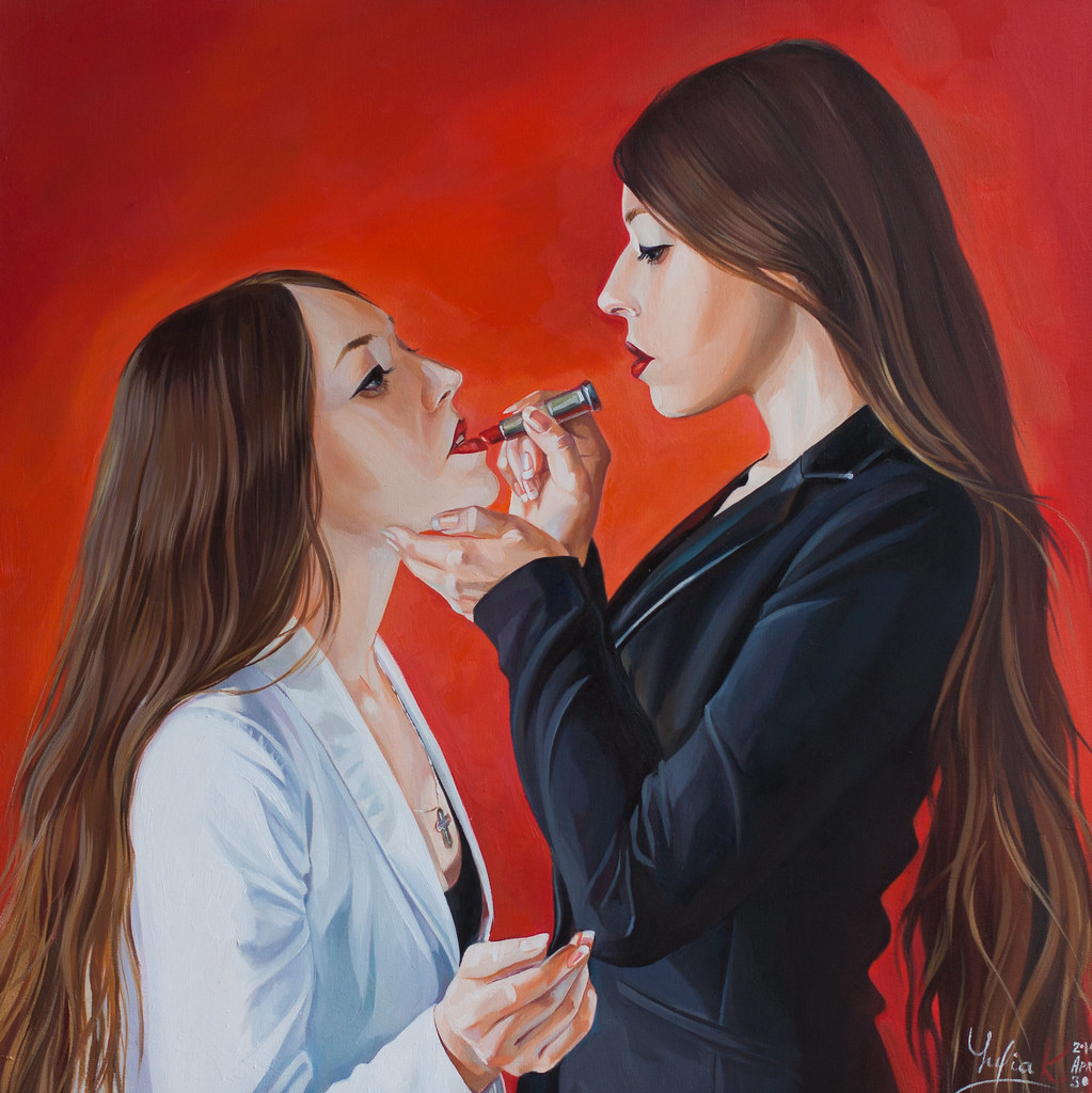 """Twins. Lipstick"""