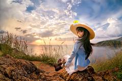 Sunset under the Sea (unknowdata) Tags: sunset summer sony fisheye remote  dd phuket hdr dollfiedream  nex6 dd