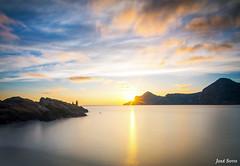 Sunset Playa del Lastre (Legi.) Tags: longexposure sunset atardecer nikon tokina cartagena 116 largaexposicin d600 portmn launin playadellastre