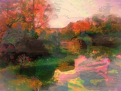 Thanks Giving Day Bridge (flynryon) Tags: inspiration art texture mike mobile digital portraits watercolor painting landscapes sketch flickr artist canvas ten kansas figures minute ryon iphone scumble mashablecom fingerpaintedit flynryon iamda aurynink ipainter uploaded:by=flickrmobile flickriosapp:filter=nofilter paintbookca