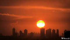Anoitecer em Curitiba (Mandeandrade) Tags: sunset pordosol sky sun sol natureza anoitecer entardecer escurecer caird