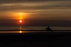 IMG_4733 (Leif Hinrichsen) Tags: sunset summer beach strand denmark island sonnenuntergang sommer insel northsea dänemark danmark nordsee abendhimmel sandstrand rømø röm nordseeinsel
