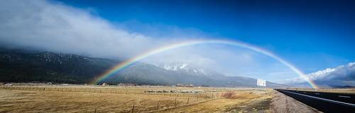 Rainbow over 395