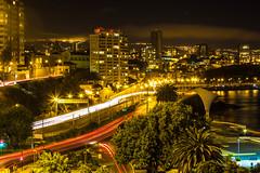 Avenida España, Viña del Mar (Brown's pic) Tags: viñadelmar recreo largaexposición cerrocastillo caletaabarca relojdeflores 1100d avenidaespaña canont3