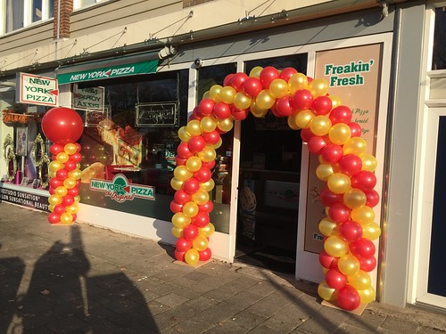 Ballonboog 6m New York Pizza Bergen op Zoom