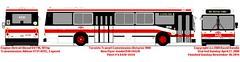 New Flyer D40-88_6420 (daviddandie903) Tags: ttc busdrawings transitdrawings