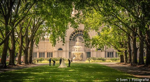 Wedding Shoot @ Royal Exhibition Building