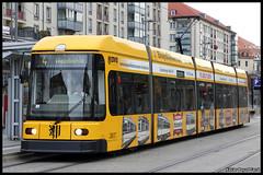 DVB NGT6DD 2517 (Xavier Bayod Farré) Tags: germany dresden tram ag trams tramway strassenbahn tranvia dresdner villamos dvb трамвай tramvia weinboehla verkehrsbetriebe 2517 električka weinböhla strasenbahn dresdnerverkehrsbetriebeag canoneos60d ngt6dd efs18135mmf3556isstm linien4