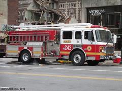 Philadelphia Fire Department Squrt 243 (GhostStationPA86) Tags: philadelphia unitedstates pennsylvania feuerwehr bomberos firedepartment brandweer firebrigade pumper americanlafrance bombeiros squrt