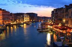 The View from Rialto Bridge, Venice, Italy