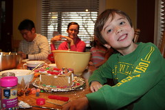 Making gingerbread houses! 18 (Aggiewelshes) Tags: december victor gingerbreadhouses olsen 2014 jalila