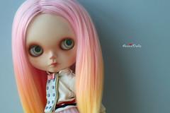 Anniedollz latest no.40 complete custom Blythe