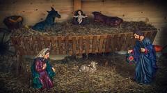 Blagoslovljen i radostan Boi! (malioli) Tags: christmas xmas barn canon photography photo europe pics jesus nursery picture croatia scene imagine cro hrvatska isus karlovac