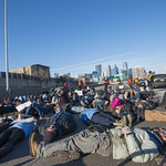 Protesters shut down I-35 in Minneapolis thumbnail