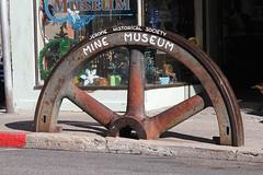 Mine Museum (twm1340) Tags: arizona giant az dec jerome historical society flywheel 2014