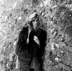 """""""Without walking in my shoes, youll never taste enough of my blues. So put on your old fur coat, its 1973"""" (lizardking_cda) Tags: street city sunset portrait bw test woman france building sexy art film glass girl beautiful fashion rock stone wall fur soleil town nice twilight model riviera photoshoot legs pierre cigarette femme coucher cte nb sensual smoking hasselblad teen lolita agency blonde teenager belle shooting medium format melancholy rue crpuscule mur fille ilford ville nizza spleen azur jambes immeub"""