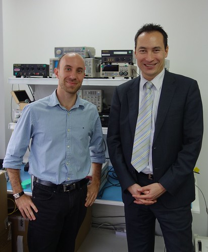 Singapore visit of EPIC member Yenista Optics (headquartered in Lannion, France)