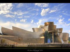 Guggenheim Museum Bilbao :: HDR ( Janine ) Tags: spain europa europe sightseeing september bilbao guggenheim basquecountry spanien baskenland guggenheimmuseum 2014