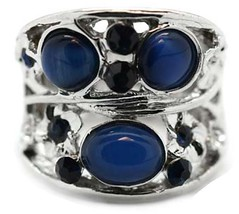 Gimpse of Malibu Blue Ring P4150-5