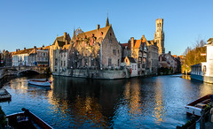 The Dijver canal (Aresio) Tags: belgium canals bruges