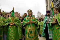 177. Во время крестного хода в Донецке 2008 г