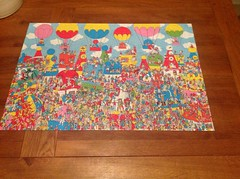 Finally finished with Christmas Puzzle ! (Bury Gardener) Tags: christmas puzzle jigsaw clowns