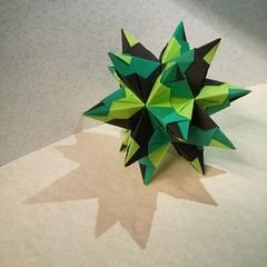 Bascetta star (diana.zx00) Tags: origami modular paperfolding folding modularorigami unitorigami bascetta