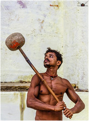 Concentration (tathagata.chakraborty1) Tags: india varanasi kushti