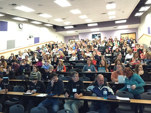 Great group for iCamp at K-State on Janu by Wesley Fryer, on Flickr