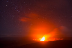 A Dance of Fire and Stars (circleyq) Tags: park sky museum night landscape island star volcano hawaii big national crater kilauea jaggar
