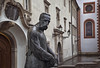 the illuminator (cherryspicks (off)) Tags: travel sculpture building art rain architecture croatia historic zagreb illuminator jurajklovic
