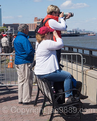 Watching the Race, America's Cup World Series 2016, New York (jag9889) Tags: park people usa water sport race river boat newjersey jerseycity sailing unitedstates yacht outdoor unitedstatesofamerica nj sailors competition hudsonriver bermuda spectator americascup challenger waterway gardenstate worldseries libertystatepark louisvuitton defender sailingboat lsp hudsoncounty 2016 auldmug jag9889 20160508 americascupnewyork2016