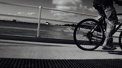 direction (desire302) Tags: blakandwhite bike jetty perth rockingham