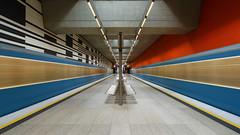 Munich underground. Oberwiesenfeld (susan pau) Tags: germany underground munich mnchen bayern bavaria monaco ubahn