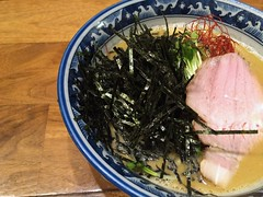 Oyster Ramen from Saichi @ Kinsicho (Fuyuhiko) Tags: from tokyo ramen  oyster      kinsicho  saichi