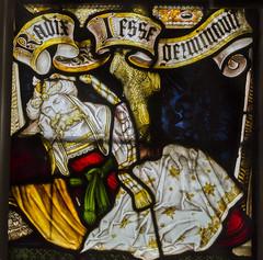 Corringham, St Laurence's church, window detail (Jules & Jenny) Tags: jesse stainedglasswindow lincs kempe corringham