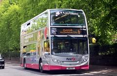 33905 SN11FOT First Glasgow (busmanscotland) Tags: glasgow ad first 400 alexander dennis enviro fot trident adl e400 33905 sn11 sn11fot
