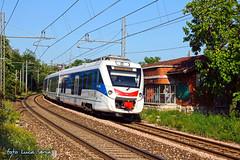 ETR 563 Citt di Gorizia (equo25) Tags: electric train eisenbahn railway zug multiple emu venezia treno trieste giulia friuli unit regio duino regionale passeggeri personenzug triebzug elektrotriebzug civity etr563