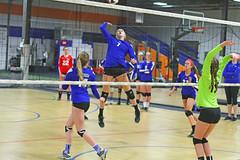IMG_1100 (SJH Foto) Tags: school girls net club high team jump shot action teenagers teens battle spike midair volleyball block tweens