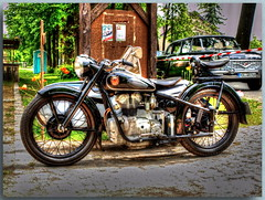Oldtimertreffen in Schöneiche bei Berlin - AZ (Peterspixel from Peter Althoff) Tags: bmw motorcycle dnepr bsa nsu simson motorrad ifa zündapp motocyclette мотоцикл днепр birminghamsmallarmscompany wehrmachtsgespann awo425 nsumotorenwerke