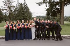 Diane & Carson | Portland Golf Club Wedding