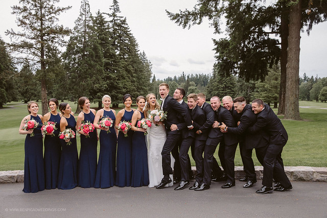 Diane & Carson | Portland Golf Club Wedding
